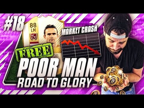 MARKET CRASH ADVICE AND FREE LEGEND OVERMARS!? Poor Man RTG #18 - FIFA 17 Ultimate Team #PMRTG