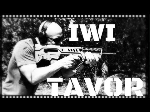 IWI Tavor SAR Bullpup Israeli Battle Rifle Review (HD)