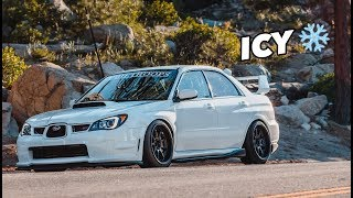 Subaru STI Gets ICE Cold!