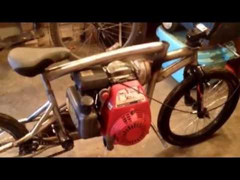 5 HP Honda two speed mini bike