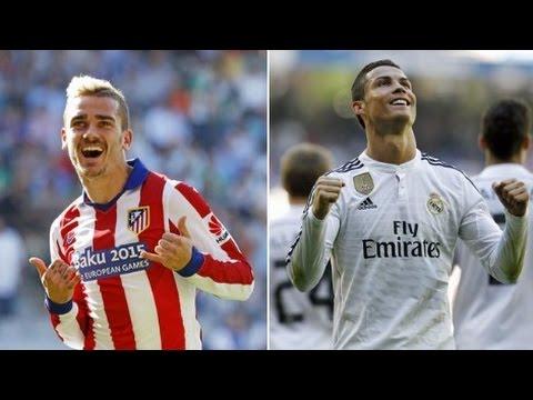 Antoine Griezmann Vs Cristiano Ronaldo - Who is the best? HD 720p