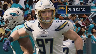 Madden 20 Career EP 8 - Bosa Wrecking Havoc!