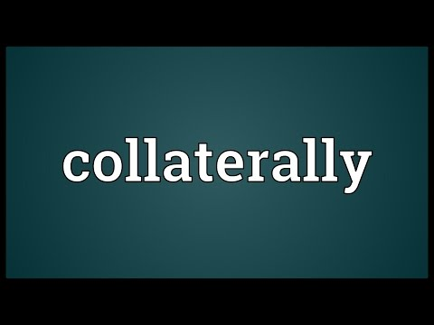 Header of collaterally
