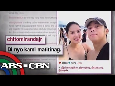 Chito, girlfriend stay strong amid sex scandal video