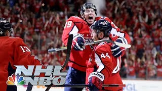 NHL Stanley Cup Playoffs 2019: Hurricanes vs. Capitals | Game 2 Highlights | NBC Sports