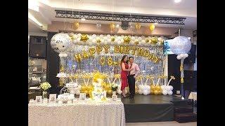 Tổ chức sinh nhật người lớn tại nhà hàng - Công ty sự kiện Pinky
