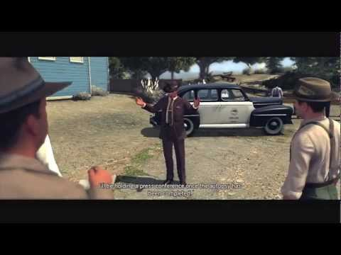 L.A. Noire: The Golden Butterfly 5 STAR Walkthrough Case 2 Part 1 [The Homicide Cases] Let's Play
