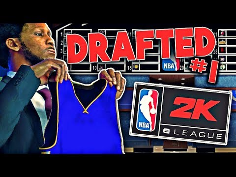 NBA 2k18 E-LEAGUE DRAFTED ME • THE 1ST PICK IN THE eLEAGUE DRAFT • WHAT TEAM WILL I BE PLAYING FOR?