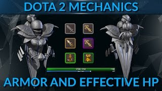 How Armor and Effective HP works in Dota 2