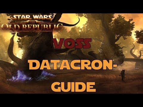 SWTOR Datacron Guide für Voss Imperium