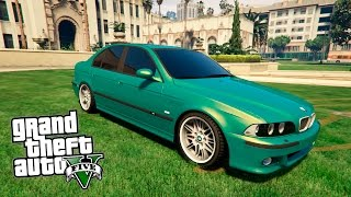 GTA 5 Mods : BMW М5 Е39