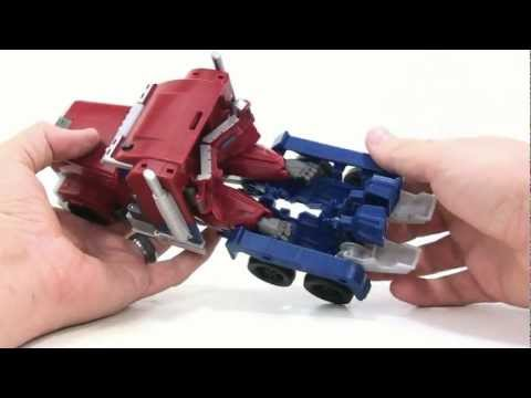 Video Review of the Transformers Prime (RID) Weaponizer: Optimus Prime
