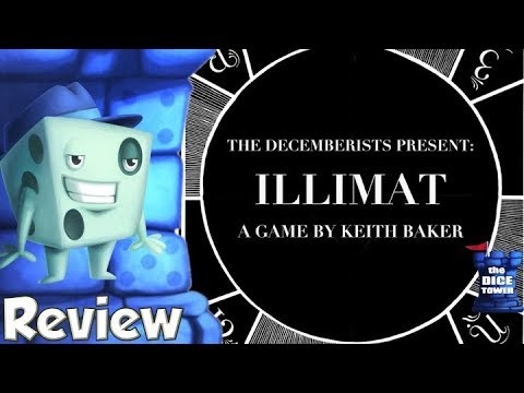 Illimat Review - with Tom Vasel