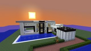 Minecraft Casa moderna / modern house + Descarga / download
