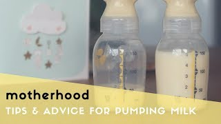 PUMPING BREAST MILK TIPS & ADVICE  - PROS, CONS, PUMPING ESSENTIALS & INCREASING MILK SUPPLY