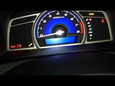 How to Reset Maintenance/Oil Light on 2009-2011 Honda Civic