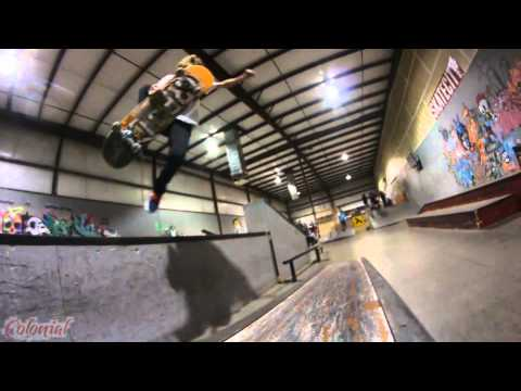 "Talon ""LUCKY"" Hawkins Skatecity lock in part 2014 x Cmtd Skateboards"