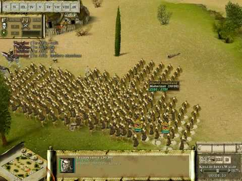 Praetorians Rashiduns vs Romans full x full battle