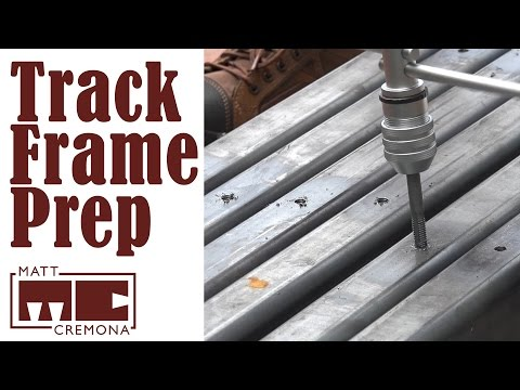Track Frame Prep - Building a Large Bandsaw Mill - Part 2