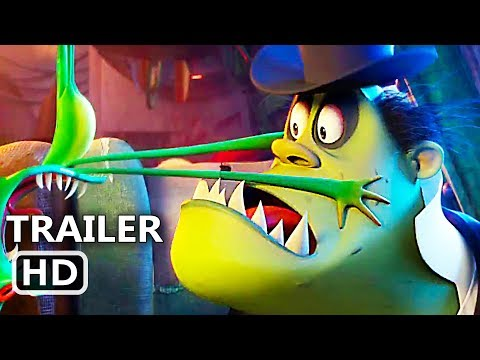 "HOTEL TRANSYLVANIA 3 ""Airplane Danger"" Trailer (2018) Animated Movie HD"