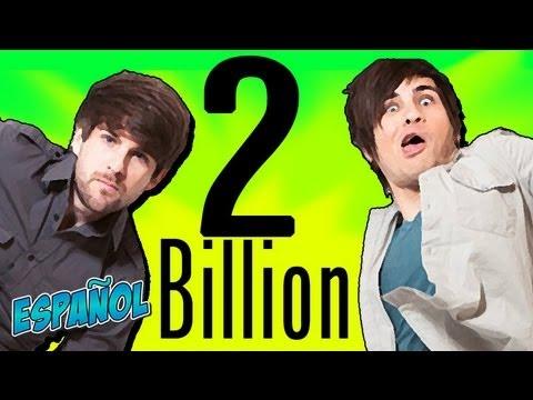 �A LA MIERDA! �2 BILLONES DE REPRODUCCIONES!