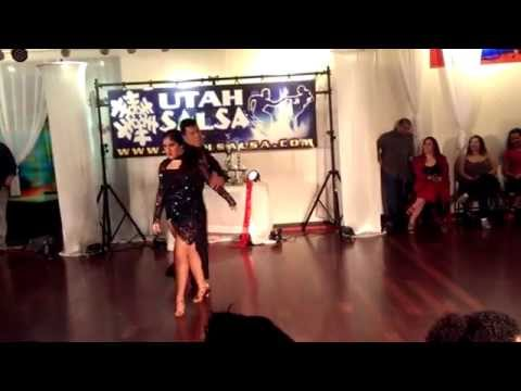 Ramces and Frida Bachata Competition 2015