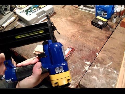 Budget Nail Gun Review - WEN 61720 Brad Nailer