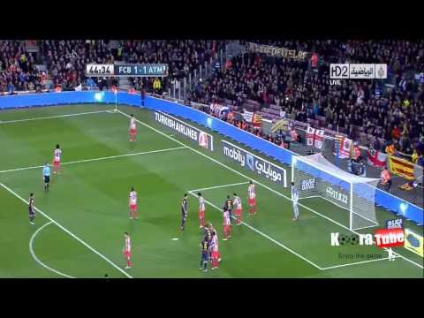 Barcelona VS Atlético Madrid 4 1 2012 All Goals 16 12 2012 Full HD