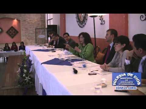 Fragmento de la convención nacional de predicadores de la IDMJI (2008)