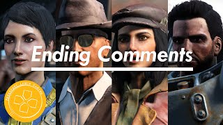 Fallout 4: Companions Comment on Minutemen Ending