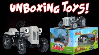 Unboxing Little Grey Fergie Toys!