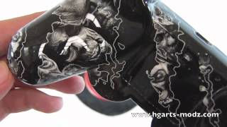 BlackOPS2 *WHITE* ZOMBIES PS3 - CUSTOM DESIGNS - PS3 Controllers | HG Arts Modz
