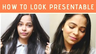 How to Look Presentable in 5 minutes   Neha Beauty & Makeup