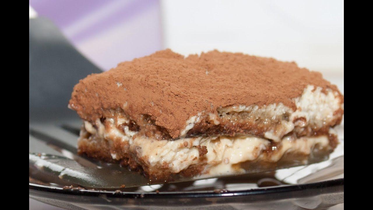 Пирожное тирамису рецепт пошагово в домашних