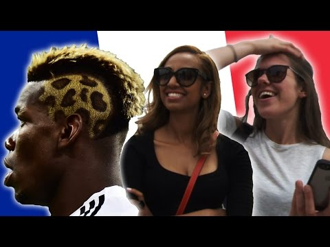Girls React To Paul Pogba's Hairstyles