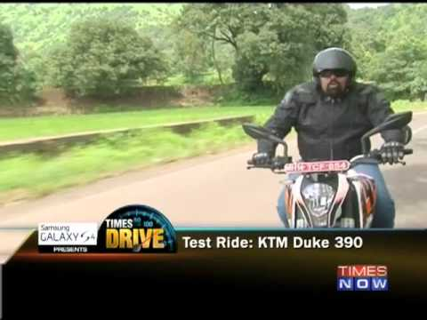 Times Drive :  Test Drive: KTM Duke 390