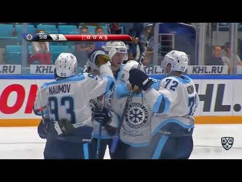 Sibir 4 Barys 0 17 September 2017 Highlights