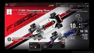 Gran Turismo™SPORT GT League F1500 Championship Race 1 Onboard
