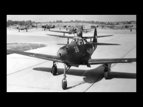 Flying the P-39: Introduction to the Bell P-39 Airacobra Fighter (1942)