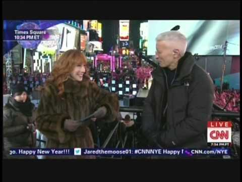 New Year's Eve Live 2015 Anderson Cooper Kathy Griffin Times Square New York (7/17)