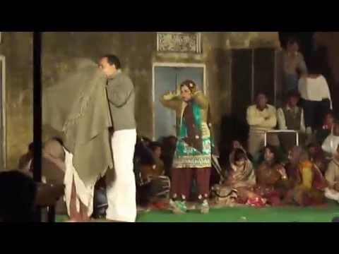 Rajbala Ragni At Bhadra Town During Rajasthani Marriage At Hanumangarh District Rajasthan India video