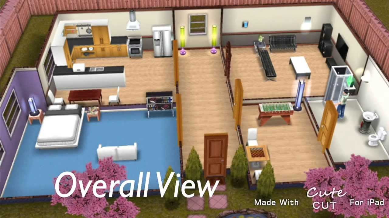 Sims Freeplay My Small Simple House Youtube
