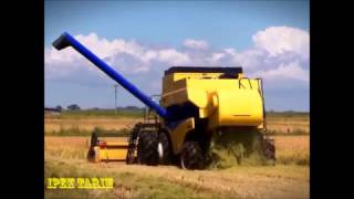 New Holland cs 660 biçer döver