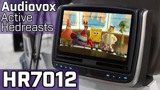 Audiovox Active Headrests