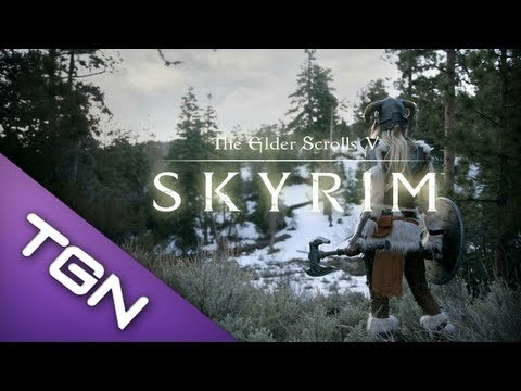 【1】 The Elder Scrolls V: Skyrim - Heavily Modded 『The Legend Begins』
