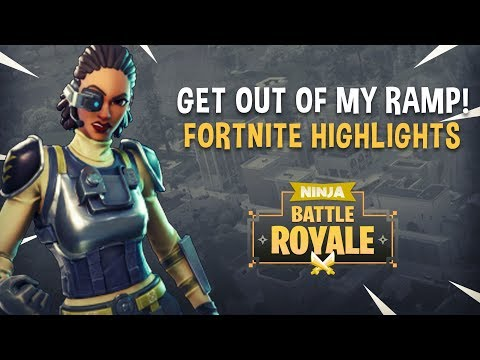 Get Out Of My Ramp!! - Fortnite Battle Royale Highlights - Ninja