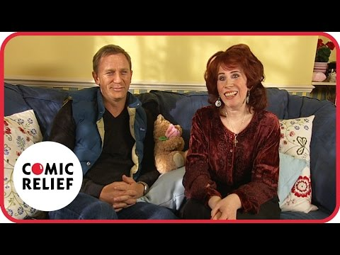 007 James Bond loves Elaine Figgis - Classic Comic Relief