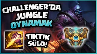 CHALLENGER ELODA JUNGLE OYNAMAK !!! - Jax Jungle Oynanış LoL PBY Kaptan