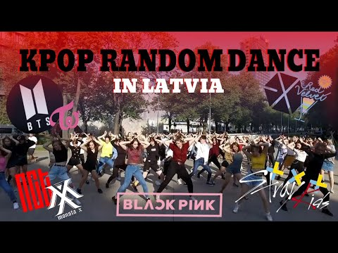 KPOP RANDOM PLAY DANCE IN PUBLIC CHALLENGE / Latvia