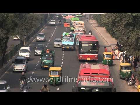 Road to Indira Gandhi International Airport, Delhi via Dhaula Kuan